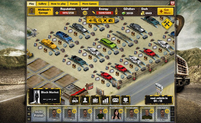 Garbage Garage Online Araba Oyunları
